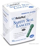 ReliaMed Safety Seal Lancets